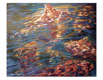fine art note card, O'Koi Corral